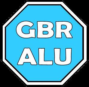 Logo GBR Alu
